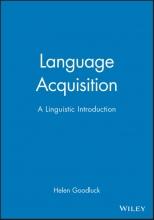 Helen Goodluck Language Acquisition