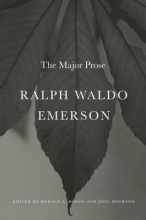 Emerson, Ralph Waldo Ralph Waldo Emerson - The Major Prose