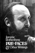 Rothenberg, Jerome Pre-Faces and Other Writings