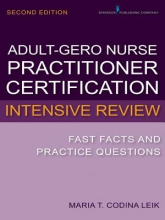 Maria T. Codina Leik Adult-Gero Nurse Practitioner Certification Intensive Review