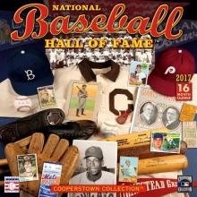 National Baseball Hall of Fame 2017 Calendar