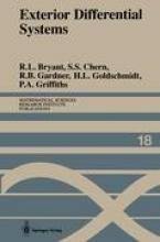 Robert L. Bryant,   S. S. Chern,   Robert B. Gardner,   Hubert L. Goldschmidt Exterior Differential Systems