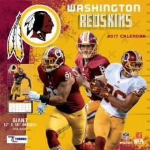 Washington Redskins 2017 Calendar
