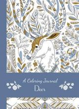 Editors of Thunder Bay Press A Coloring Journal Deer