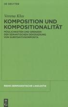 Verena Klos Komposition und Kompositionalitat