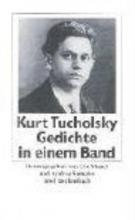 Tucholsky, Kurt Gedichte in einem Band
