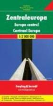 , Zentraleuropa 1 : 2 000 000. Autokarte