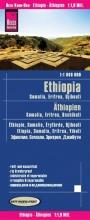 , Reise Know-How Landkarte Äthiopien, Somalia, Eritrea, Dschibuti (1:1.800.000)