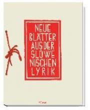 Neue Bl?tter aus der slowenischen Lyrik