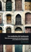 Forcinito, Ana Los umbrales del testimonio.