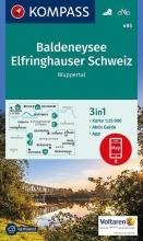 , Kompass WK493 Baldeneysee, Elfrinhauser Schweiz, Wuppertal