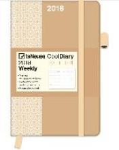 Cool Diary PATTERN Apricot 2018 9x14