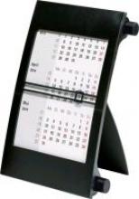 Drei-Monats-Tischkalender 2017 schwarz