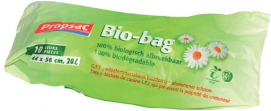 , Afvalzak Bio 44x56cm 18micron 20liter 30rolx10stuks