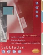 , Tabbladen Multo economy A4 23-gaats 5-delig assorti