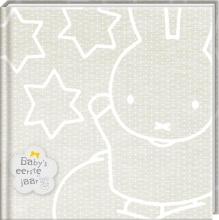 Nijntje Baby`s eerste jaarboek zilver