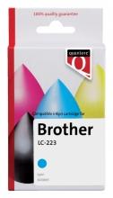 , Inktcartridge Quantore Brother LC-223 blauw