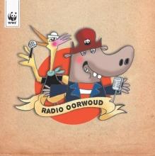 Radio Oorwoud CD, 15 liedjes (+ 24 pag boekje), over ontbossing, klimaat-verandering en een ecologische voetafdruk. Met o.a. Raymond van het Groenewoud, Koen Wouters, Kommil Foo, Pieter en Tine Embrechts, Sarah Bettens en Hannelore Bedert.