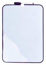 , Whiteboard Desq 24x34cm + marker paars profiel