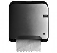 , Dispenser Euro Quartz handdoekrol mini matic zilv