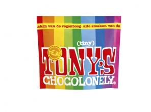 , Chocolade Tony`s Chocolonely Tiny mix 180g zak à 20 stuk