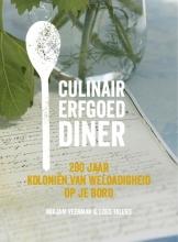 Loes Talens Mirjam Veenman, Culinair Erfgoed Diner