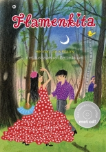 Herman  Link, Rita  Iny Een flamenco-sprookje in de vorm van een kleurrijk prentenboek met een luisterboek met 18 originele flamencoliedjes,gezongen en gesproken in het Nederlands. Sfeervolle illustraties van Gertie Jaquet, muziek van Samba Salad en La Primavera.