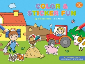 ZNU , Color & sticker fun - Op de boerderij vanaf 3 jaar