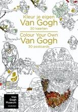 , Kleur je eigen Van Gogh - Colour your own Van Gogh