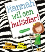 Jenna  Harrington Hannah wil een huisdier!