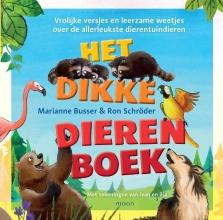 Marianne  Busser, Ron  Schröder Het dikke dierenboek