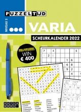 , Puzzeltijd Varia Scheurkalender 2022