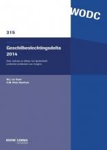 M.J. ter Voert, C.M.  Klein Haarhuis Geschilbeslechtingsdelta 2014