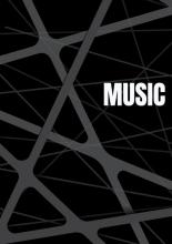 Allets Comfort , Notenschrift- Notenbalken- Music (A5) Allets comfort