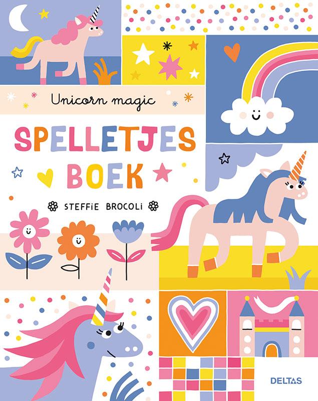 Steffi Brocoli,Unicorn magic spelletjesboek