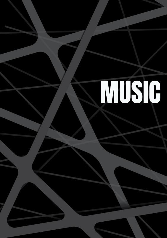 Allets Comfort,Notenschrift- Notenbalken- Music (A5) Allets comfort