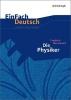 Friedrich Dürrenmatt,Die Physiker. Einfach Deutsch Unterrichtsmodelle