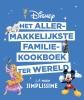 <b>J.F. Mallet</b>,Disney - Het allermakkelijkste familiekookboek ter wereld