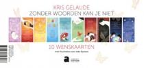 <b>Kris  Gelaude</b>,Zonder woorden kan je niet - 10 wenskaarten