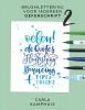 Carla  Kamphuis,Brushlettering voor iedereen 2 Oefenschrift