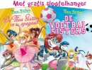 <b>Thea  Stilton</b>,De Thea Sisters in spagaat + De voetbalsisters (20+21)