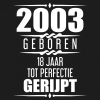 Albaspirit  Gastenboeken,2002 Geboren 18 Jaar Tot Perfectie Gerijpt