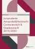 Marco  Loos Diana  Dankers-Hagenaars,Jurisprudentie Aansprakelijkheidsrecht, Contractenrecht en Goederenrecht 2019/2020