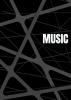 Allets Comfort ,Notenschrift- Notenbalken- Music (A5) Allets comfort