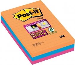 , Memoblok 3M Post-it 4690 Super Sticky 10