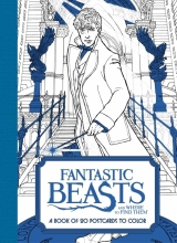 HarperCollins Publishers Fantastic Beasts and Where to Find Them: A Book of 20 Postcards to Color