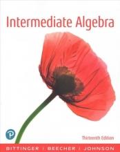 Marvin L. Bittinger,   Judith A. Beecher,   Barbara L. Johnson Intermediate Algebra