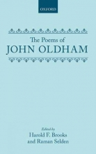 John Oldham,   Harold F. Brooks,   Raman Selden The Poems