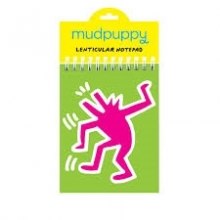Keith Haring Dancing Dog Lenticular Notepad
