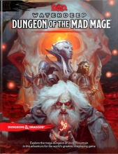 Wizards RPG Team Dungeons & Dragons Waterdeep: Dungeon of the Mad Mage (Adventure Book, D&d Roleplaying Game)